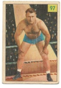 Bronko Nagurski 1955 Parkhurst Wrestling #97  NFL HOF Redskins