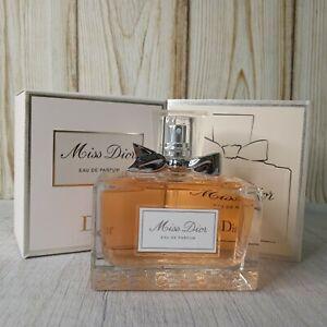 Miss Dior By Christian Dior 3.4 oz Eau De Parfum Spray New Without Box.