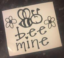 Bee Mine Decal vinyl sticker for Mug Pint Glass Gift Valentines