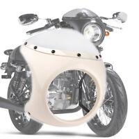 UNIVERSAL WINDSCHILD 7'' MOTORRAD WINDSCHUTZSCHEIBE MOTORRADSCHEIBE für Harley
