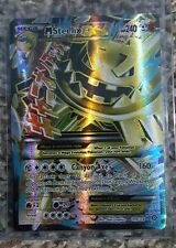 Mega Steelix EX - 109/114 - Full Art Ultra Rare Pokemon XY Steam Siege M/NM
