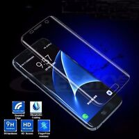 Clear Full Cover Tempered Glass Screen Protector For Samsung Galaxy S6 Edge NEW