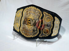 AEW World Heavyweight Wrestling Championship Belt 2mm Plates(Replica)
