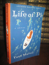 Life of Pi Yann Martel 1st Edition Advance Proof Booker Prize ARC Movie Film