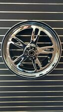 "For Harley NEWPORT 18"" x 10"" Chrome Wheel USA MADE FOR WIDE TIRE APPLICATIONS"