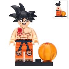 Goku - Dragon Ball Z Lego Moc Minifigure Gift For Kids New & Sealed [Wounded]