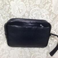 Authentic Louis Vuitton, Black Taiga Leather Mens Clutch-Wristlet 9inx6inx2.5in