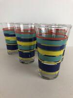 vintage lemonade glasses