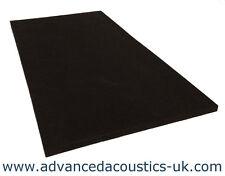 """Advanced Acoustics Class '0' 1"""" Thick Acoustic Studio Treatment Foam Panel Black"""