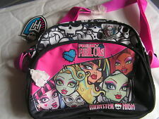 SAC BANDOULLIERES MONSTER HIGH LICENCE OFFICIEL NEUF