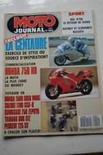 MOTO JOURNAL 1005 Essai Road Test YAMAHA RD 56 TD1 C HONDA NR 750 1991