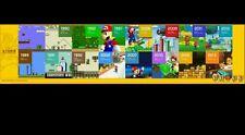 30th Anniversary Mario Poster from Nintendo Super Mario Maker