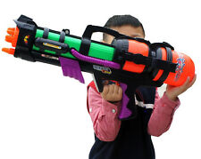"23"" Large Water Gun Pump Action Super Soaker Sprayer Outdoor Beach Garden Toy"