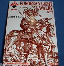 Redbox 72084 europea de caballería Set 1. 16th Century. escala 1:72
