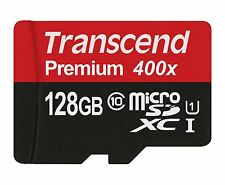 Transcend Micro SDXC 128GB Premium Class 10 UHS-I U1 60MB/s Flash Memory Card sm