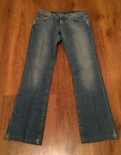 """Lucky Brand Womens Sundown Jean Pants Dungarees Size 6 / 28 """" Distressed"""