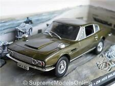 JAMES BOND ASTON MARTIN DBS OHMSS MODEL CAR 1/43 SCALE PACKAGED ISSUE K8967Q-+-