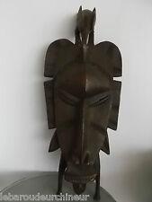 Ancien masque Senufo african art primitf premier art africain