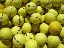 100 gelbe Rangebälle Crossgolfbälle,  Golfbälle  Crossgolf