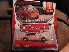 DISNEY PIXAR CARS 2 PARIS TOUR SERIES GEARTRUDE