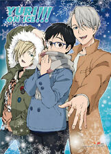 Yuri On Ice Group Outdoors Wall Scroll Poster NEW