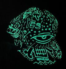 Glow in the Dark Cap UV Phosphorescent Unisex Snapback Cap