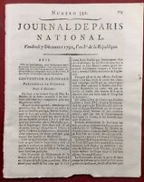 Procès de Louis Capet 1792 Religion Protestant Kersaint Potocki Pologne