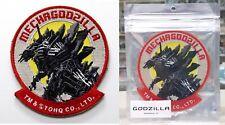 """Godzilla City on the Edge of Battle Velcro Patch Mechagodzilla 4"""" x 3.5"""" TOHO NW"""
