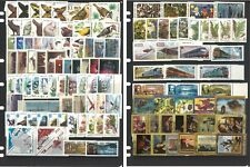 Russian Stamps 25 Different Complete Sets - 20 Mint UH Sets & 5 CTO Sets