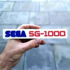 Sega SG-1000 3D fridge magnet / shelf sign - Retro 80s 8bit Video Games Logo