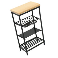 Metal 1:12 Scale Dollhouse Miniature Furniture Dining Room Dishes Rack Decor