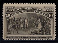 P126811/ UNITED STATES – SCOTT # 237 MINT MNH – CV 285 $