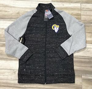 NFL Fanatics LA Rams Team Apparel Football Sweater Sweatshirt Mens Large New
