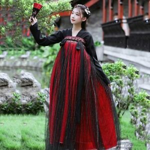 Robe Hanfu Femme Women Ancient Tang Dynasty Costume Cosplay Chinese Traditional