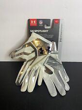 Under Armour Ua Spotlight Football Gloves Size M