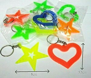10 pcs diff Star / Heart /key chain / Necklace / pendant Party favor BAG FILLERS