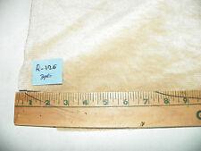 Light Tan Chenille Nylon Fabric / Upholstery Fabric 1 Yard R126