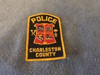 Company Closed, Patch Retired: Charleston County Police Patch