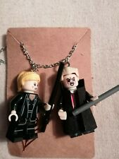 Buffy And Spike LEGO Necklace