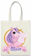 UNICORN Personalised Gift Bag 3 Options Small Tote, Med Tote or Large Tote Bag