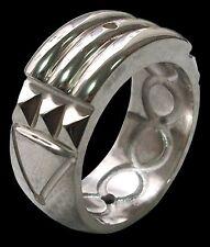 925 Sterling Silver Atlantis Ring Anillo Atlante Shiny Finish - All Sizes