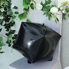 "Black 14x14"" 4D Cube Mylar Foil Balloon Wedding Birthday Event Party Decorations"