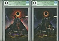 Death to the Army of Darkness 1 CGC 9.8 Crain Exclusive Edition A & B Signed