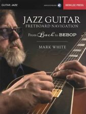 Jazz Guitar Fretboard Navigation TAB Music Book with Audio Bach to Bebop