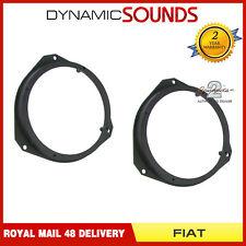 CT25FT07 165mm 16.5cm Front Door Speaker Adaptors For FIAT Grande Punto 2005>