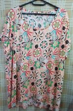 100% Authentic KIM ROGERS PLUS SIZE Blouse Size -3x bought in US!