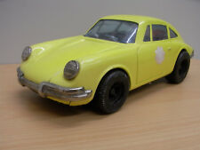Daiya Tin Toy blikken Porsche 911 Geel 70-jaren Made in Japan