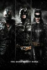 The Dark Knight Rises Three Movie Poster 24x36