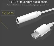 Usb-c Type C to AUX Audio 3.5mm Adapter Headphone Jack for Samsung MacBook 3pack