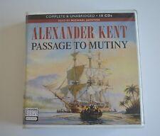 Passage to Mutiny - Alexander Kent - 10CD Audiobook Unabridged